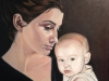 "Honorable Mention: ""Mother and Child\"" by Kathleen Hurley / 2015 Inspiration"