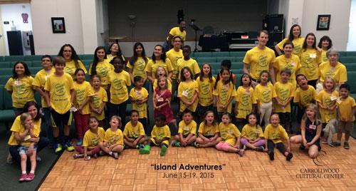 "2015 Summer Camp: ""Island Adventures"" (June 15-19)"