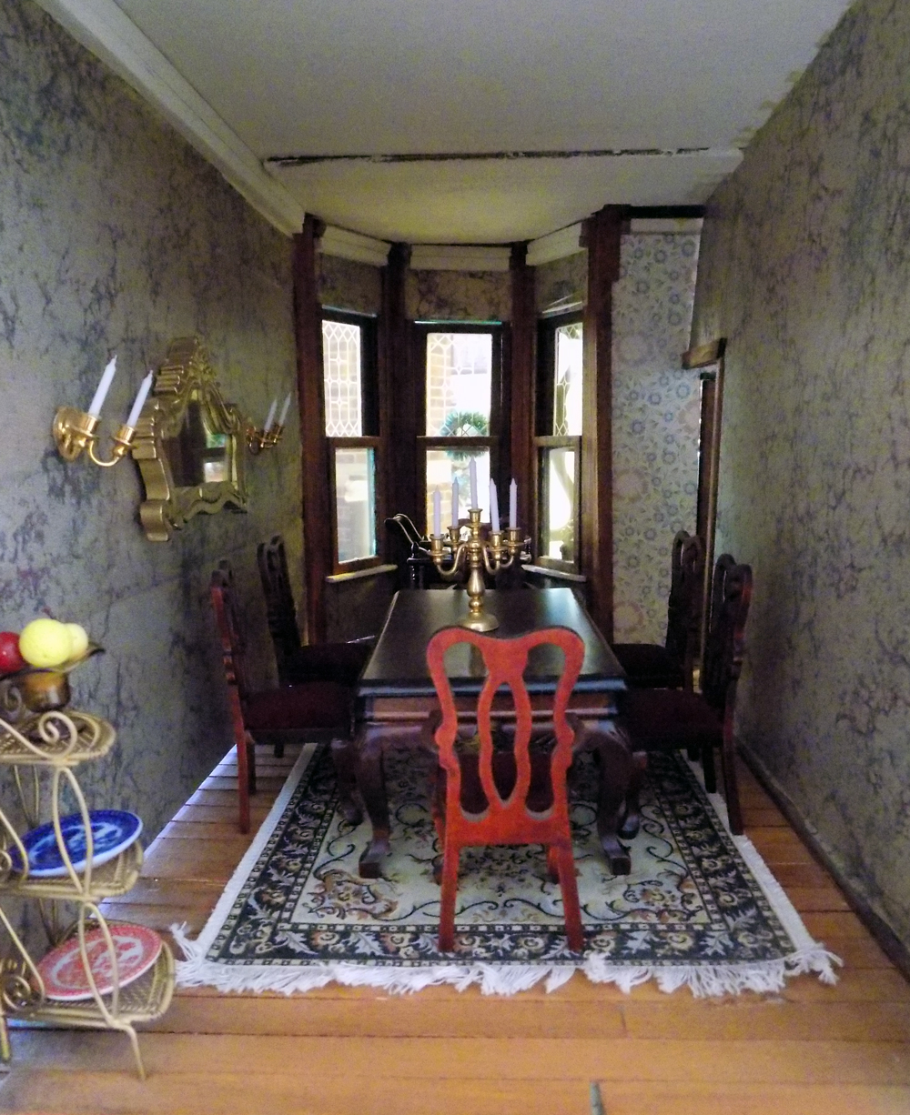 """Victorian Dollhouse"" by Nancy Stearns"