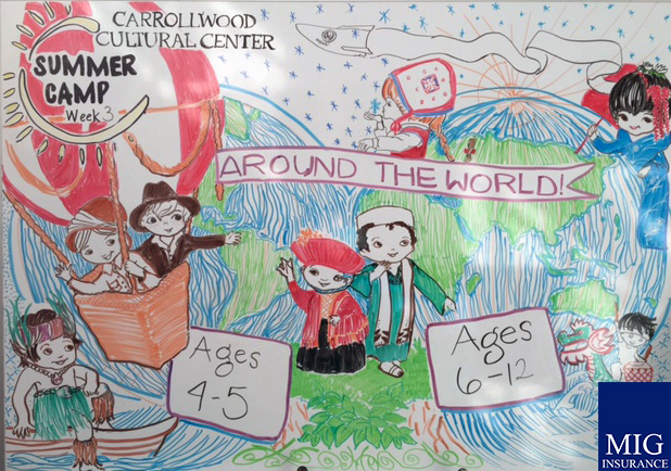 "June 20-24: ""Around the World"" sponsored by MIG"