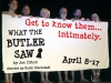 WHAT THE BUTLER SAW / Cast Curtain