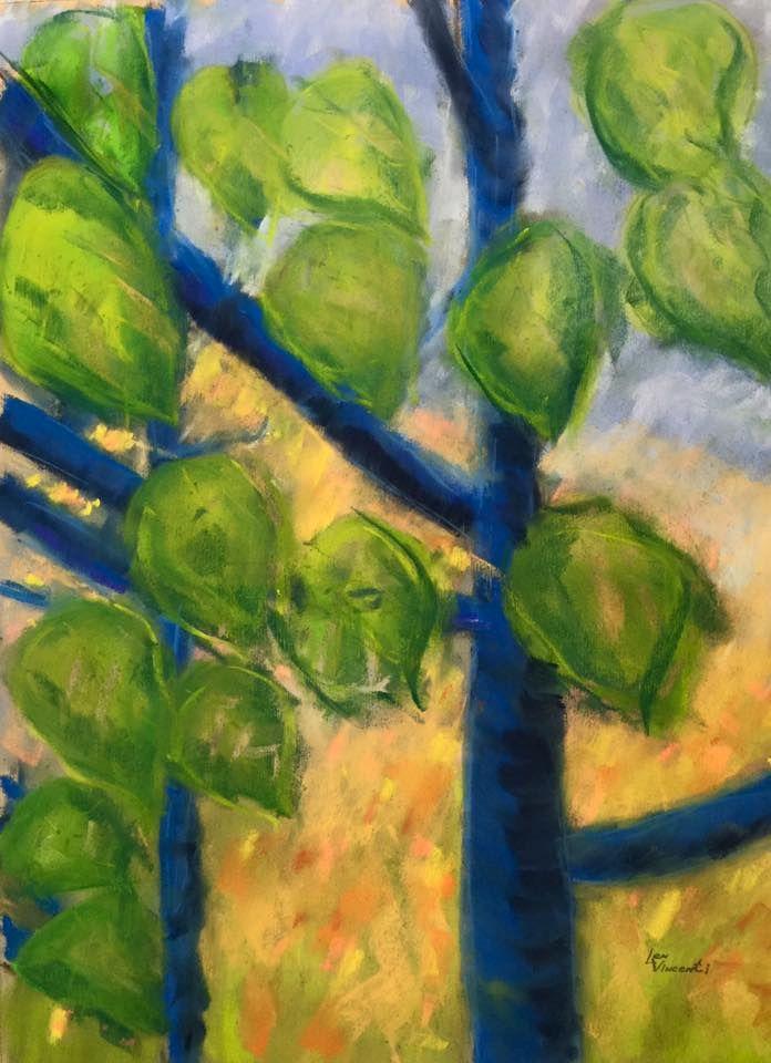 """""""Blue Aspen"""" by Len Vincenti"""