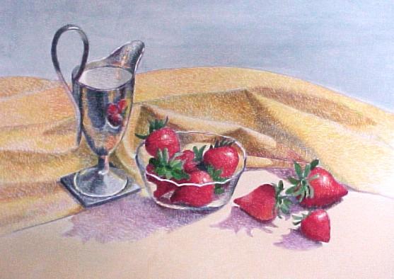 """""""Strawberries and Cream"""" by Gainor Roberts"""
