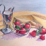 """Strawberries and Cream"" by Gainor Roberts"