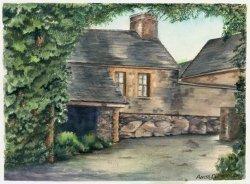Court Yard by Anita Dillmann