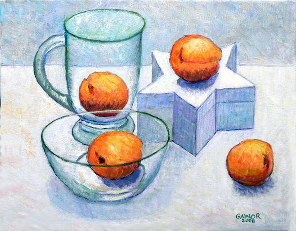 """Apricots!"" by Gainor Roberts"