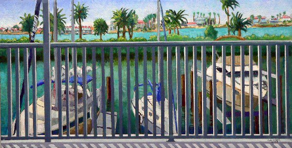 """From the Balcony"" by Gainor Roberts"