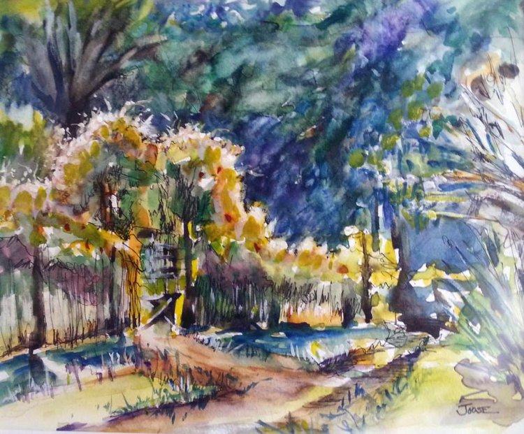 """""""Garden Path"""" by Joose Hadley"""