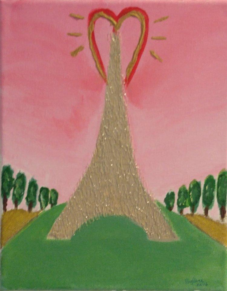 """Love in Paris"" by Sylvie Wittman"
