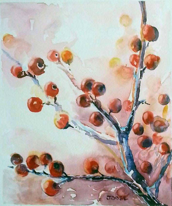 """""""Red Berries"""" by Joose Hadley"""