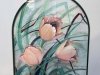 """Peach Tulips"" by Nancy Kirkpatrick Sr"