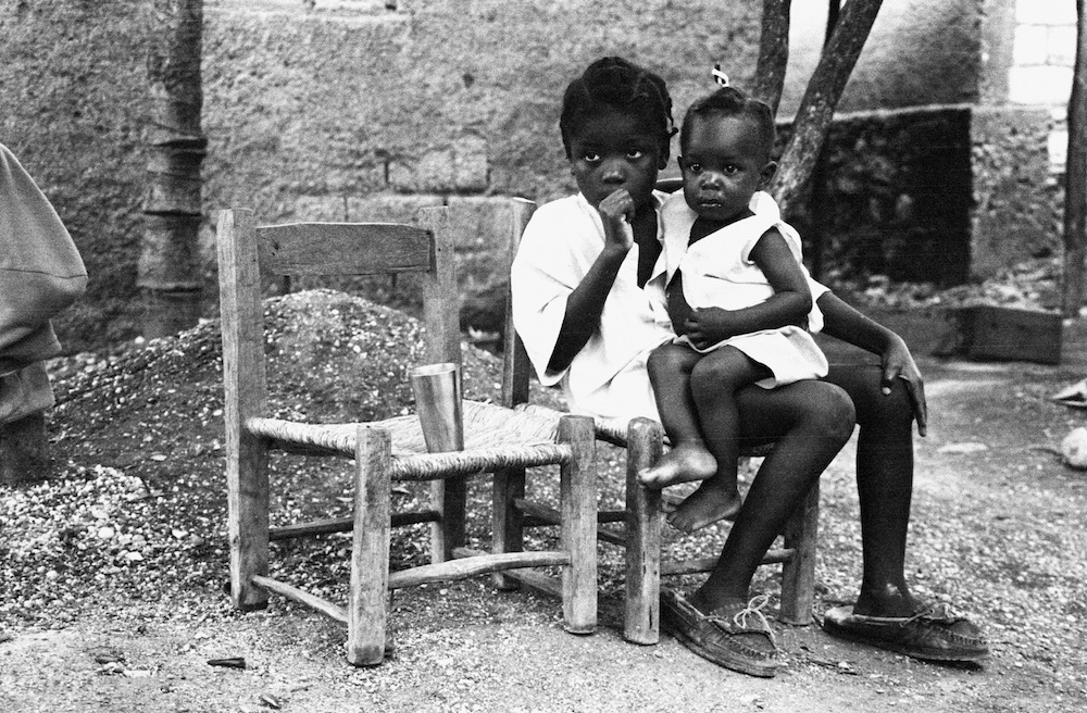 Sisters, Jacmel, Haiti 1998 by Billy Joe Hoyle