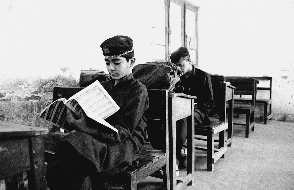 Students of Islam, Peshawar, Pakistan 2001 by Billy Joe Hoyle