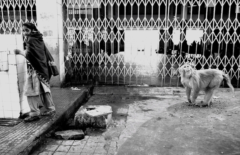 Train station, Ahmadabad, India 1999 by Billy Joe Hoyle