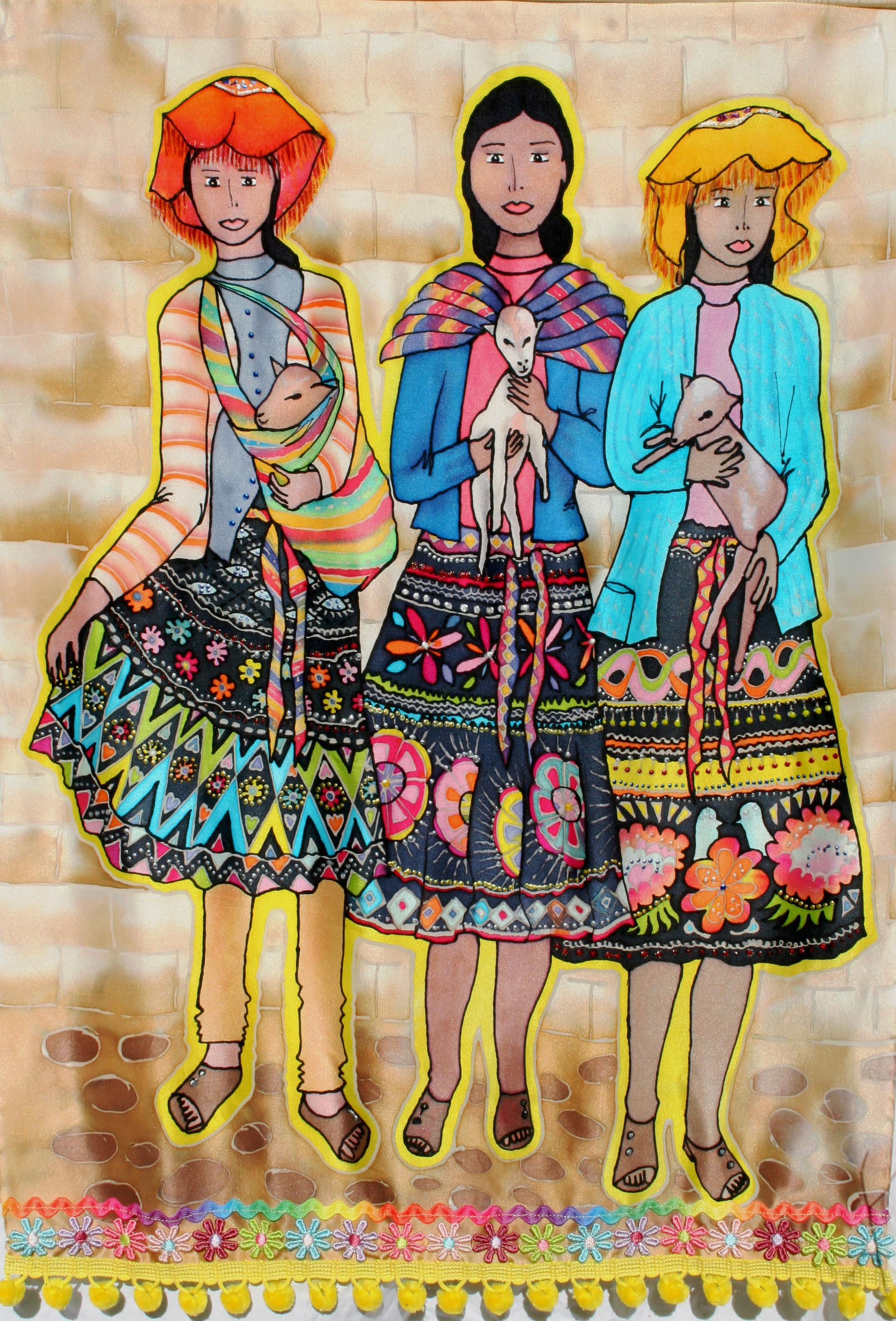 """""""Girls of Peru"""" by Barbara Forgione"""