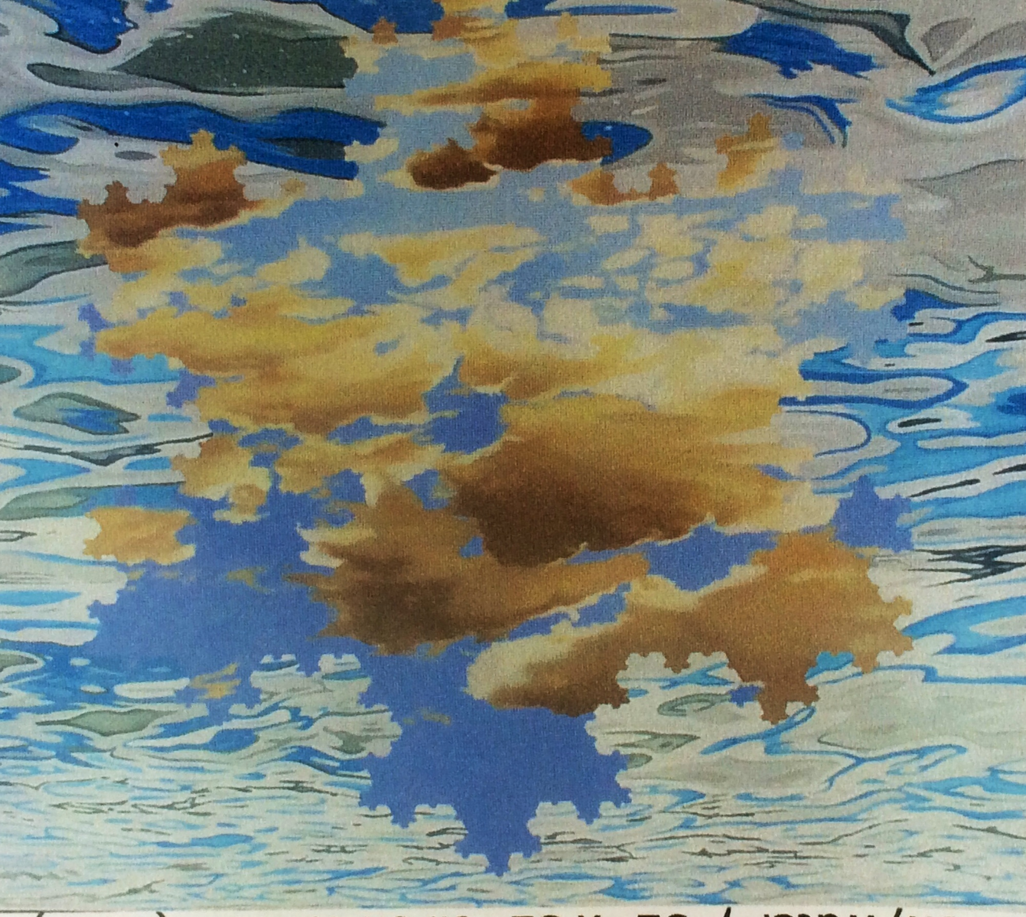 """Clouds"" by John Gurbacs"