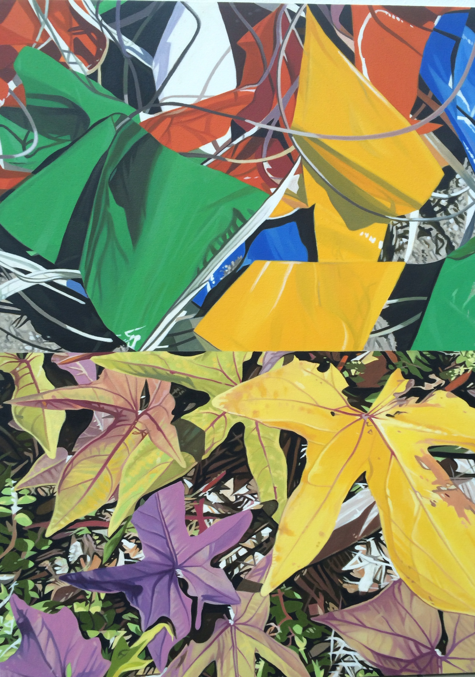"""Leaves"" by John Gurbacs"