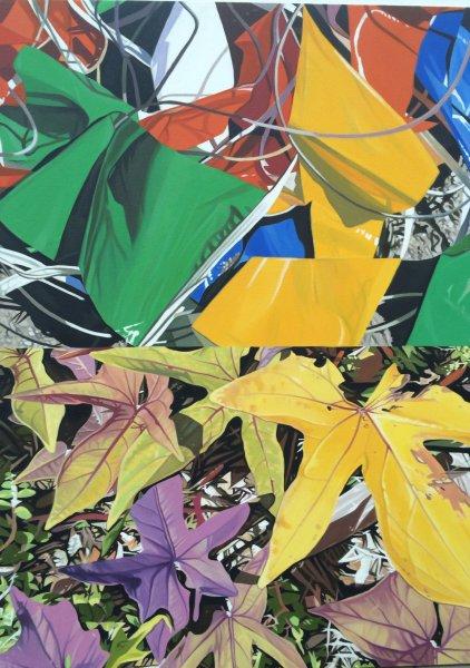 Leaves by John Gurbacs