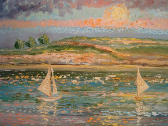 """Debussy Reflets dans l'eau"" by Peter Stilton"