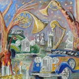 """Fete a la Cocteau (Rolls Royces make beautiful Music)"" by Peter Stilton"
