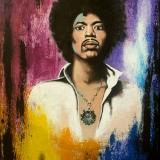 """""""Jimi Hendrix"""" by Saatchi"""