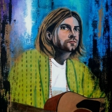 """Kurt Cobain"" by Saatchi"
