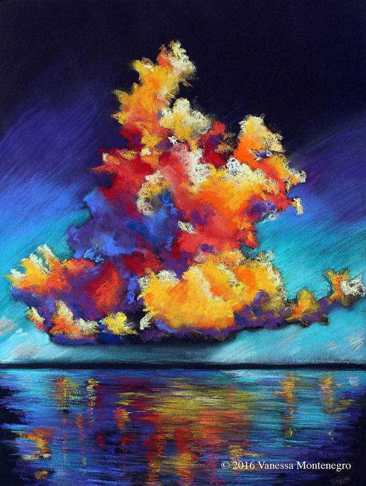 """Monumental Cloud 1"" Vanessa Montenegro"