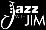 Jazz with Jim logo - reversed