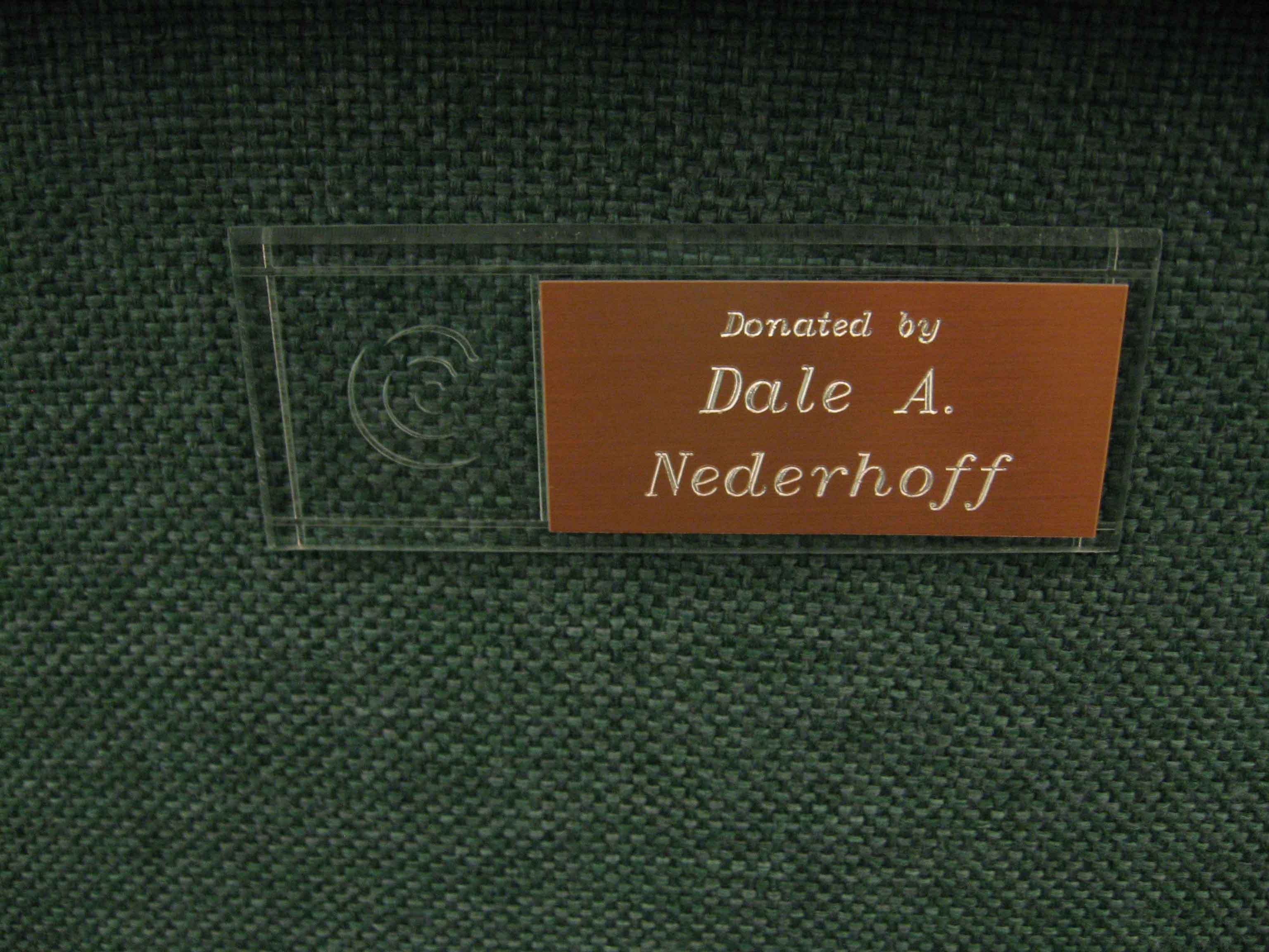 First-Chair-Dale-Nederhoff