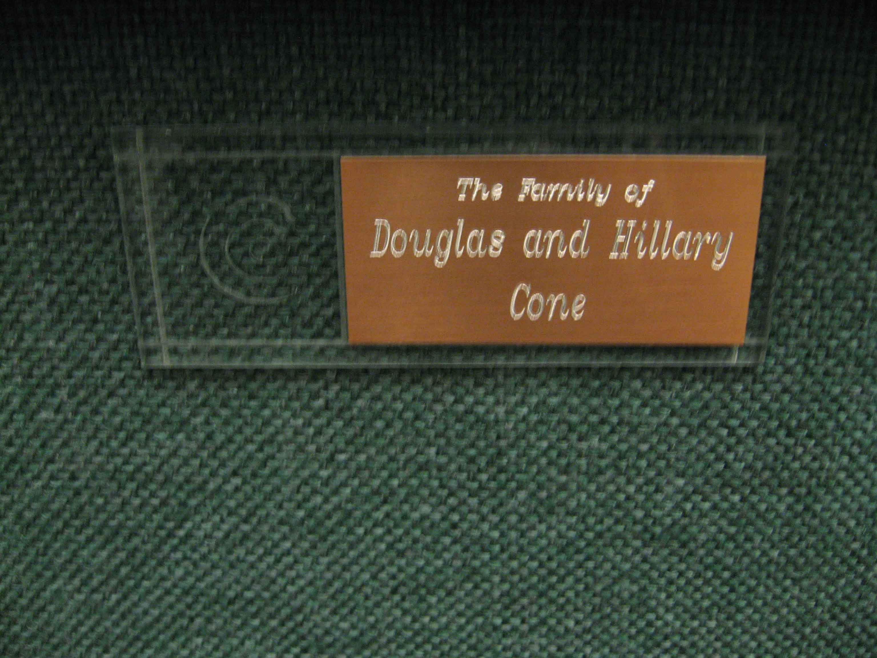 First-Chair-Douglas-Hillary-Cone