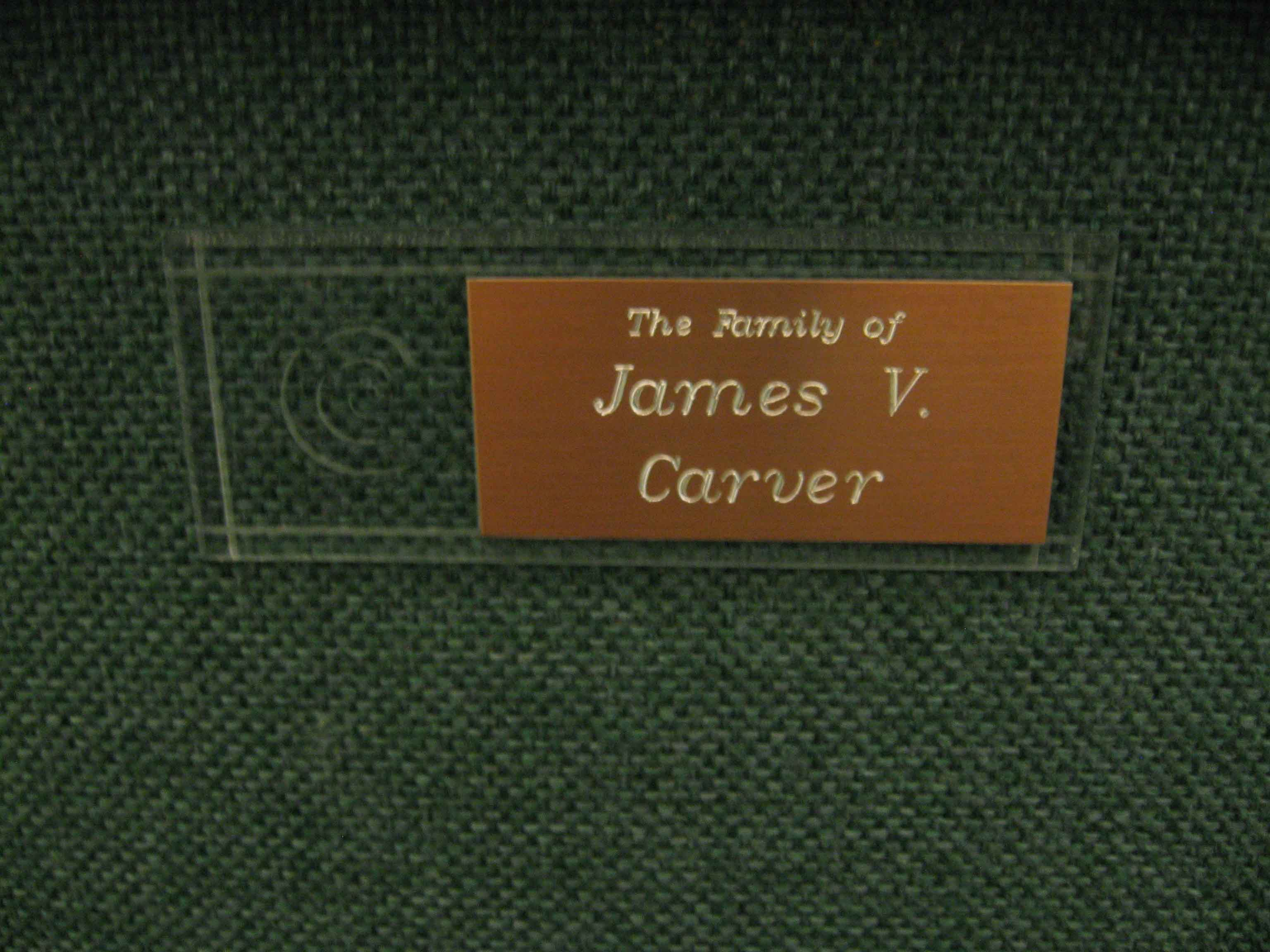First-Chair-James-V.-Carver