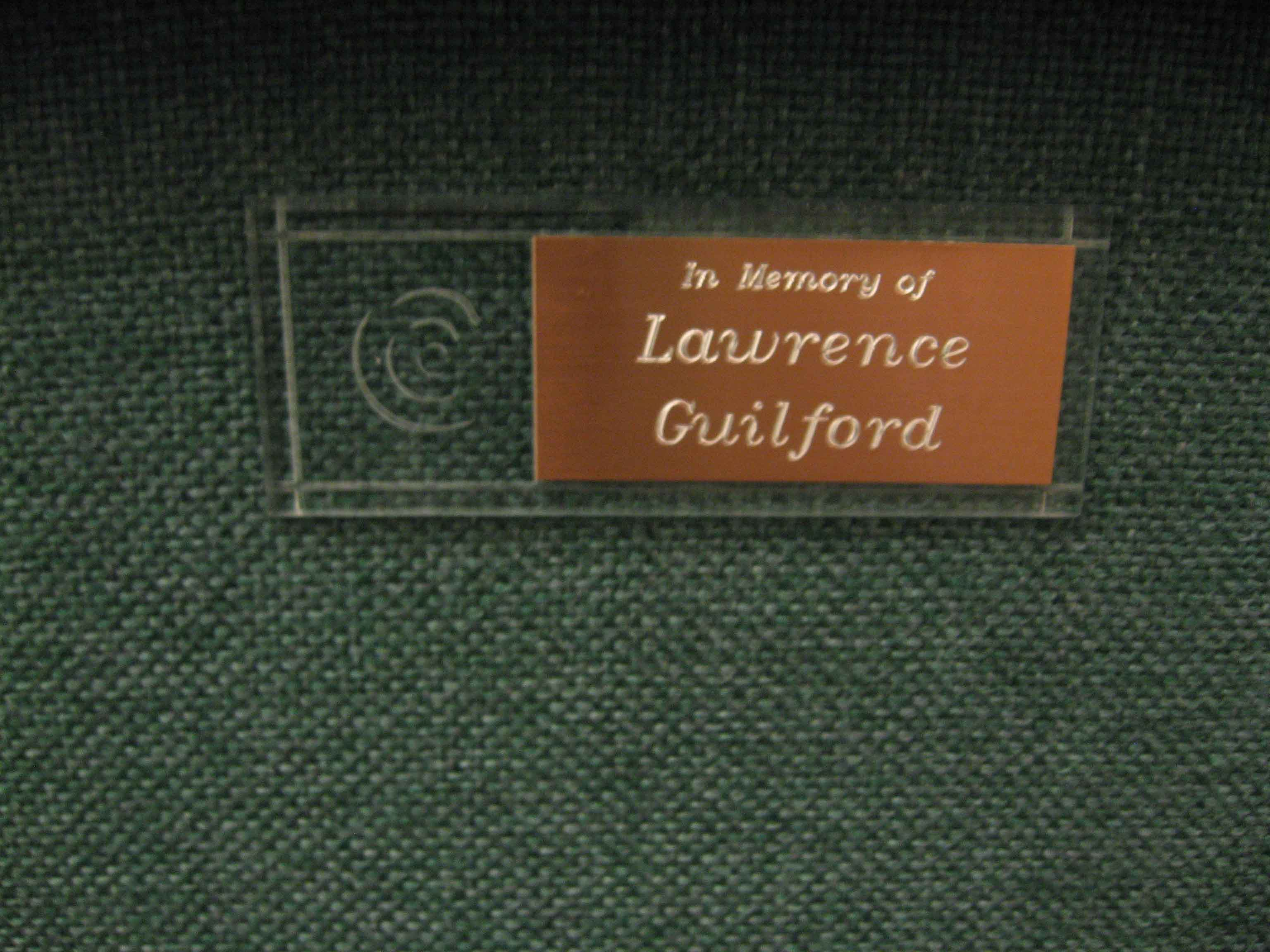 First-Chair-Laurence-Guilford