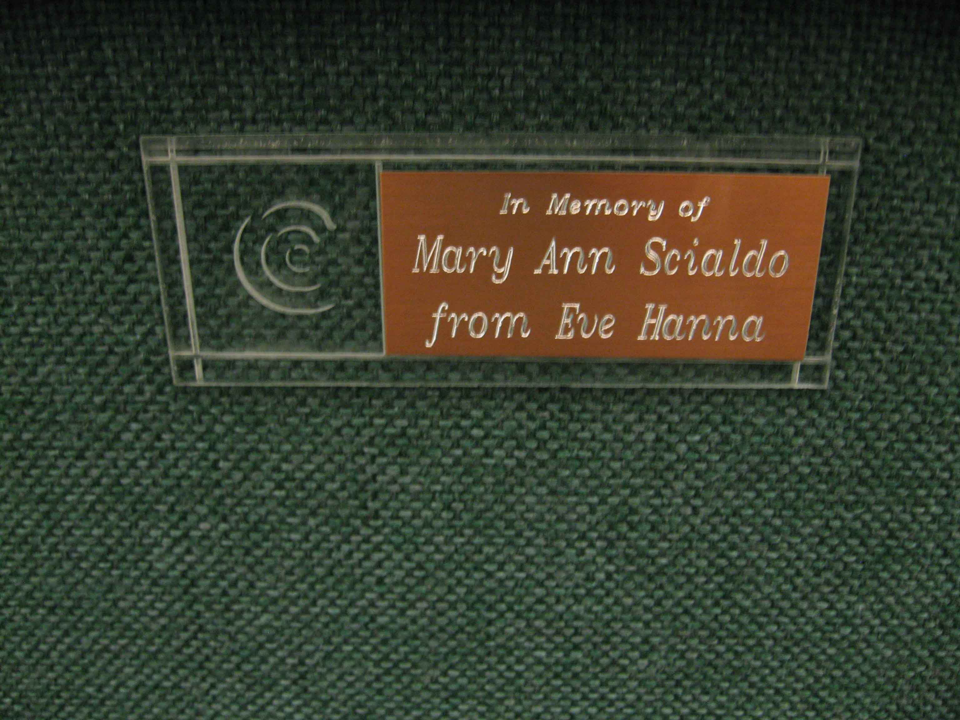 First-Chair-Mary-Ann-Scialdo