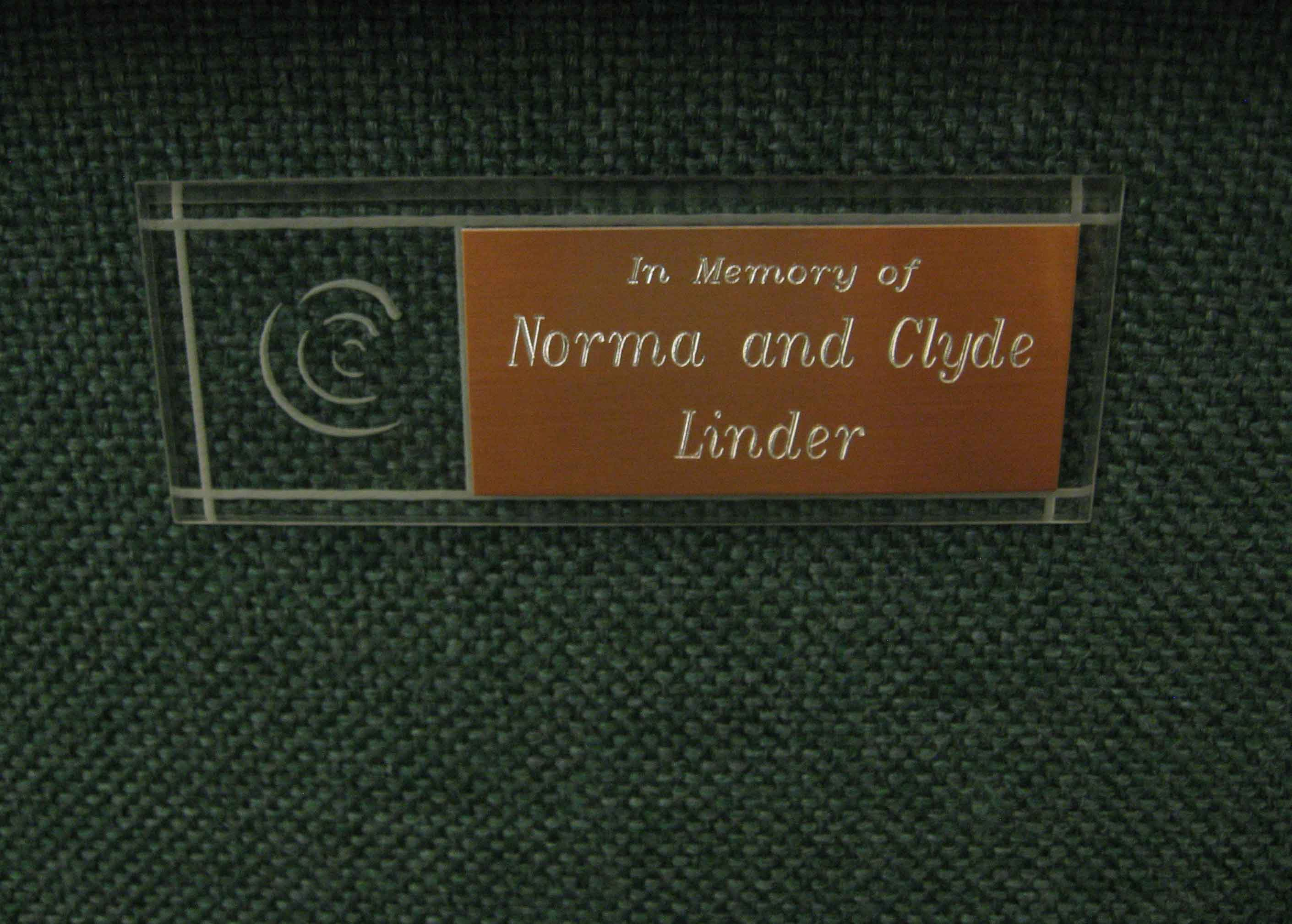 First-Chair-Norma-Clyde-Linder
