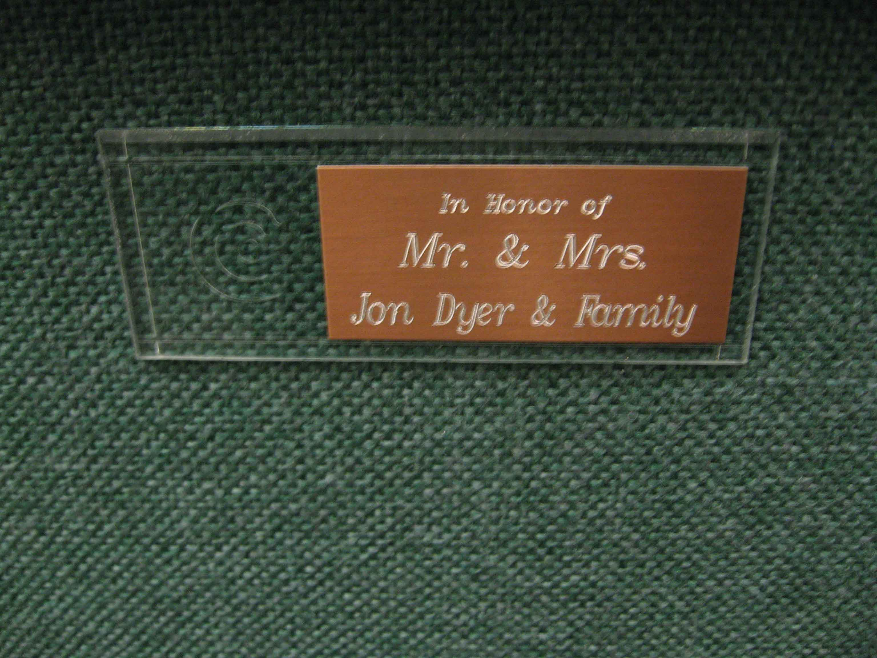 First-Chair-The-Jon-Dyer-Family