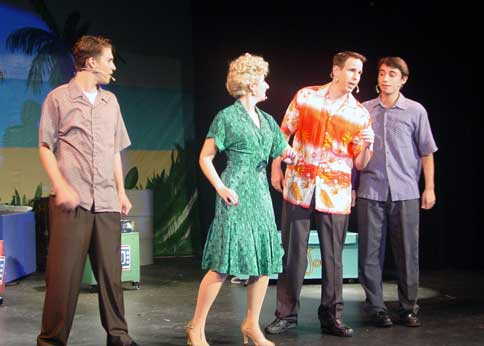 The Andrews Brothers (2014 dress rehearsals)