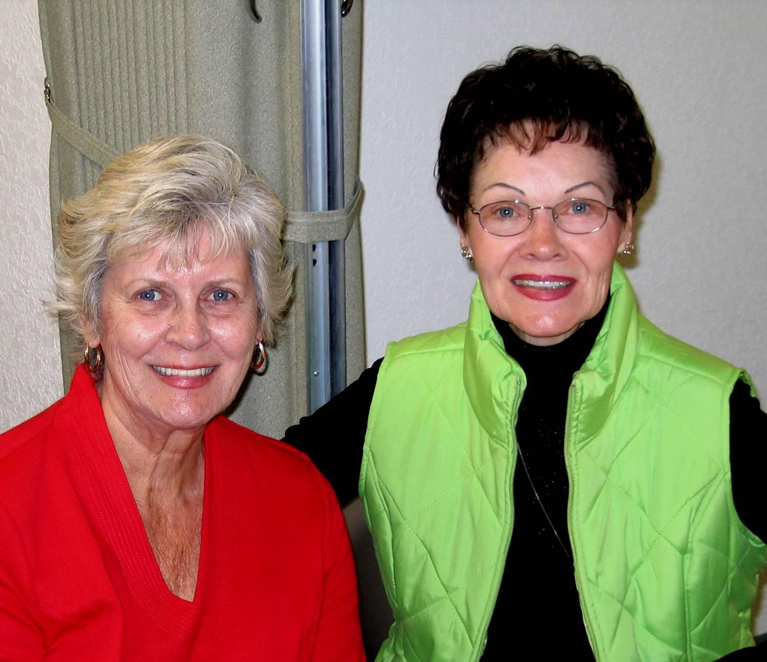 Doris Burge & Lynn Fugiel