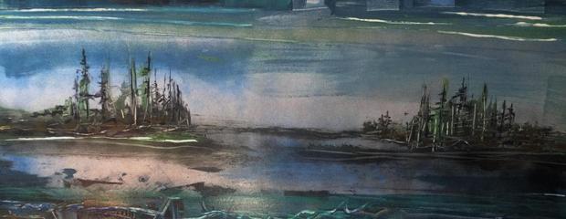 """Islands off Schoodic Head"" by Peter Stilton"