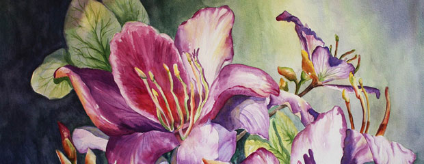 """She Loved Orchids"" by Roxanne Tobaison"