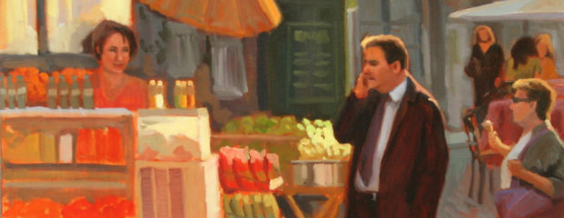"""Street Life - Rome"" by Linda Hugues"