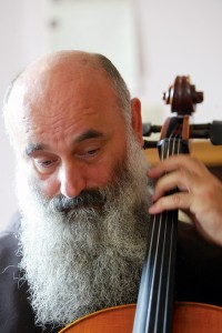 Father Vit Fala, OFM, cellist