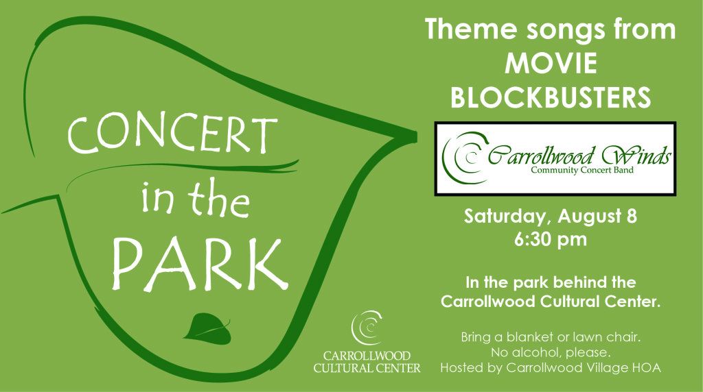 CONCERT IN THE PARK @ Carrollwood Cultural Center (Park) | Tampa | Florida | United States