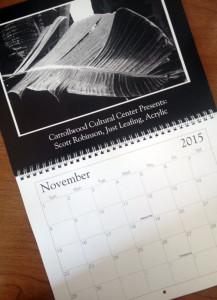 2015 Gallery Calendar with Scott Robinson