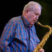 Jim Burge saxophone - credit Chaz Dykes Photography