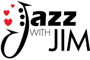 Jazz with Jim Valentine Heart Logo