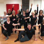 2017 Adult Jazz dance class