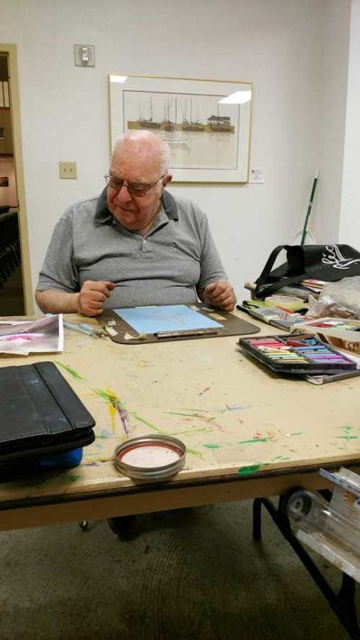 Gerry-in-Painting-in-Oil-and-Pastels-with-Gainor-Roberts-web