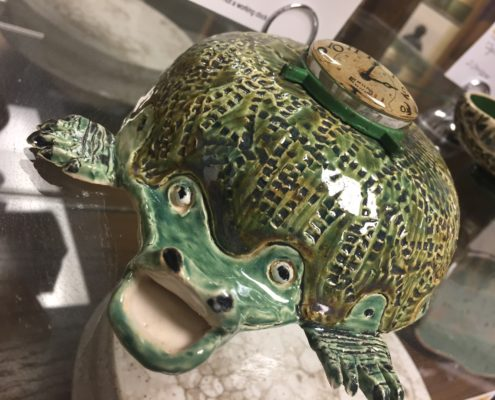 Hand Building Class - Ticktock the Crococlock by Debbie Hofer