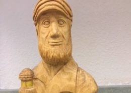 Woodcarving - captain