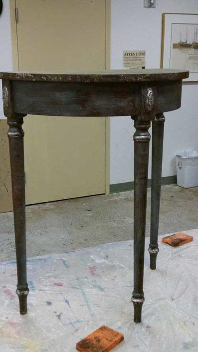 Creative Furniture Finishing class - half-round
